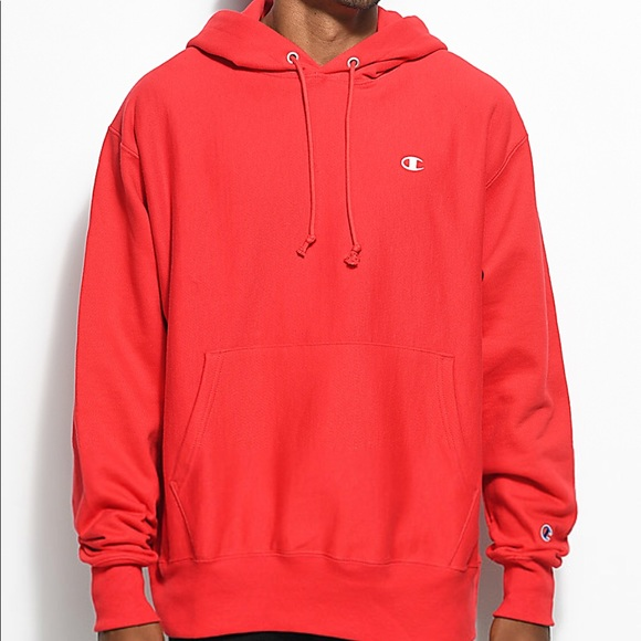 Champion red sweater